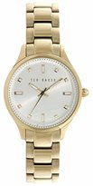 Ted Baker Women's 10025273 Classic Analog Display Japanese Quartz Gold Watch
