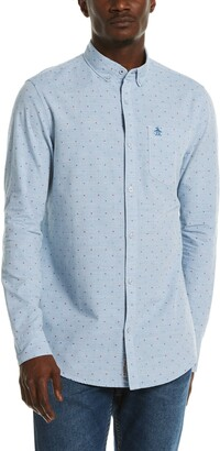 Original Penguin Dobby Cotton Button-Down Shirt
