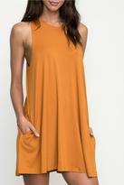 RVCA Orange Punch Sleeveless Dress