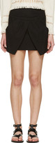 Isabel Marant Black Cross-Over Irwin Skirt