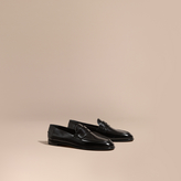 Burberry Polished Leather Loafers