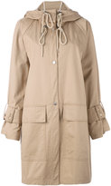 See by Chloe ovoid trench coat - women - Cotton - 36