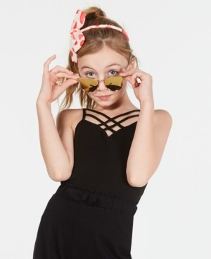 Epic Threads Criss-Cross Shelf Camisole, Wear Me Two Ways, Big Girls, Created for Macy's