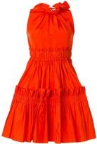 Dice Kayek tiered mini dress