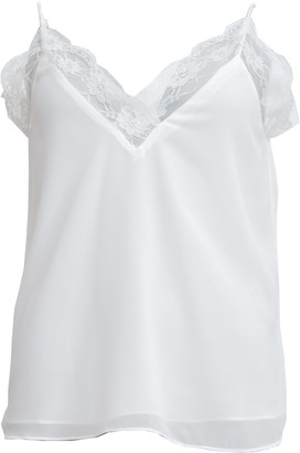 Sienna Goodies - White Lace Top - S - White