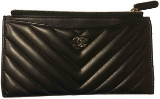 Chanel Black Leather Purses, wallets & cases