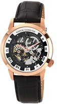 Vince Camuto Men's VC/1007BKRG The Executive Rosegold-Tone Self-Wind Automatic Watch