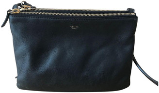 Celine Trio Black Leather Handbags