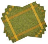 """Sur La Table Simpane Jacquard Placemats, 14"""" x 18.5"""", Set of 4"""