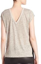 Generation Love Millie V-Back Heathered Tee