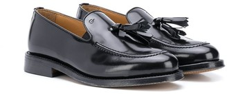 Gallucci Tassel-Front High-Shine Loafers