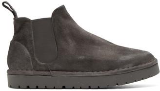 Marsèll Grey Gomme Sancrispa Alta Beatles Boots