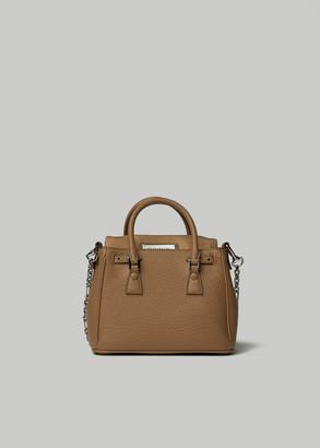 Maison Margiela Small Zip Bag in Camel