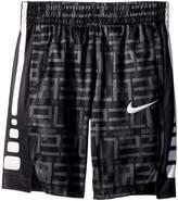 Nike Elite All Over Print Stripe Short Boy's Shorts