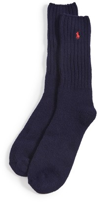 Polo Ralph Lauren Wool Rib Boot Socks