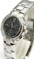 Concord La Scala Chronograph Date Diamond Bezel Sapphire Crystal Men's Watch