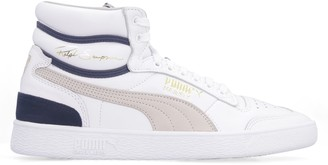 Puma Ralph Sampson Mid Leather Sneakers