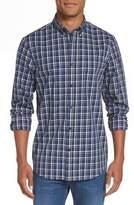 Nordstrom Men's Regular Fit Non-Iron Spade Check Dress Shirt