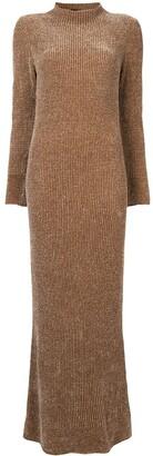 Giorgio Armani velvet jersey dress