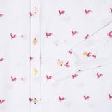 Paul Smith Women's White 'Year Of The Rooster' Fil Coupé Shirt