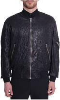 McQ by Alexander McQueen Leather Bomber Jacket