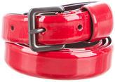 Jil Sander Patent Leather Waist Belt