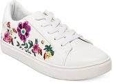 Betsey Johnson Maya Embroidered Sneakers