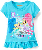 Children's Apparel Network Shimmer and Shine Peplum Top - Toddler
