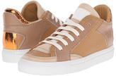 MM6 MAISON MARGIELA Metallic Crackle Low Top Sneaker