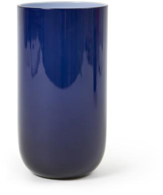 Jonathan Adler Navy Pop Highball Glass