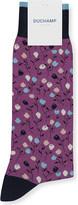 Duchamp Mini Flower cotton-blend socks