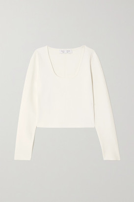 Proenza Schouler White Label Stretch-knit Top