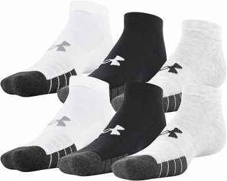 Under Armour Adult Performance Tech Low Cut Socks 6-Pairs