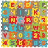 Fisher-Price Rain Forest Friends 36 Pieces ABC /123 Foam Cube Puzzle