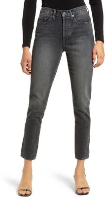 Edwin Hana High Waist Crop Straight Leg Jeans