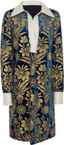 Tory Burch Thelma Foiled Velvet Dress