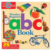 Asstd National Brand Abc Wooden Activity Book