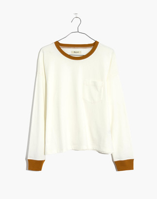 Madewell Drop-Sleeve Pocket Tee