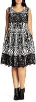 City Chic Lace Royale Dress