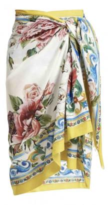 Dolce & Gabbana Yellow Cotton Swimwear