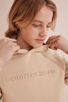 Country Road Teen CR Logo Hooded Sweat
