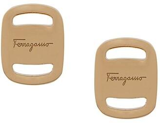 Salvatore Ferragamo Vara earrings