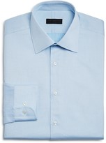 Ike Behar Micro Textured Dot Neat Regular Fit Dress Shirt