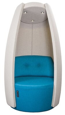 Sandler Seating Cocoon Balloon Chair Upholstery Color: Red