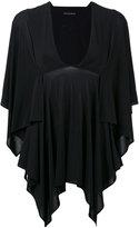 Plein Sud Jeans batwing tunic - women - Spandex/Elastane/Viscose - 36