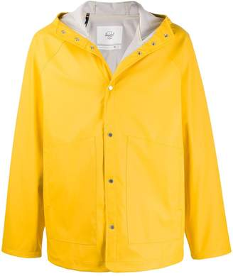 Herschel hooded rain jacket