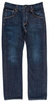 Rag & Bone Five-Pocket Straight-Leg Jeans