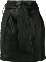 IRO Kanel skirt - women - Lamb Skin/Rayon - 38