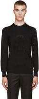 Alexander McQueen Black Skull Sweater