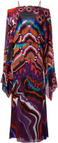 Roberto Cavalli Lungo Dreamscape dress - women - Silk - 42